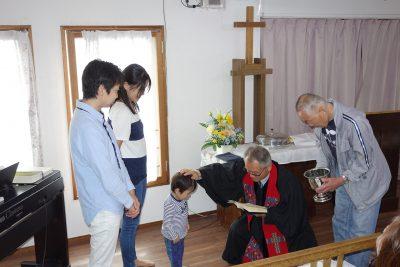 幼児洗礼式