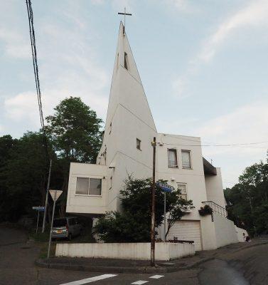 浦河教会外観